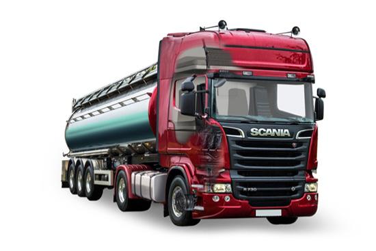 Топливозаправщик Scania